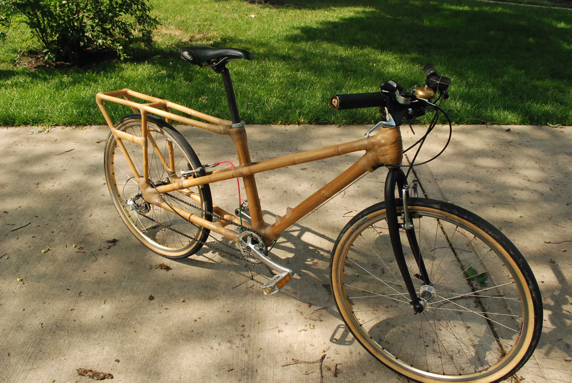 my bamboo cargo bike