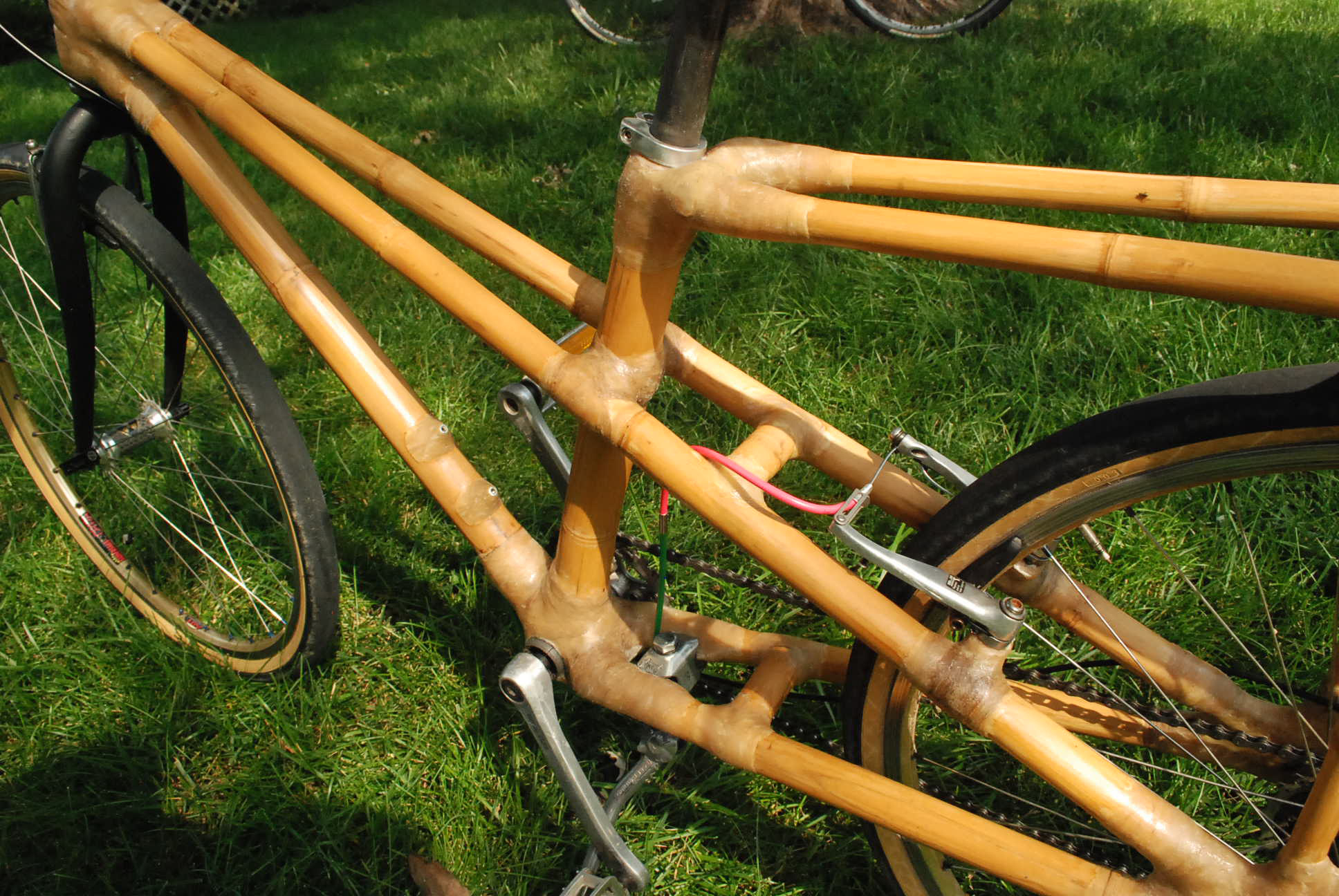 mixte design - bamboo bicycle