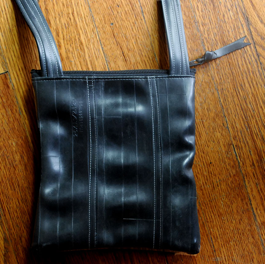 Inner tube Hipster Purse - back