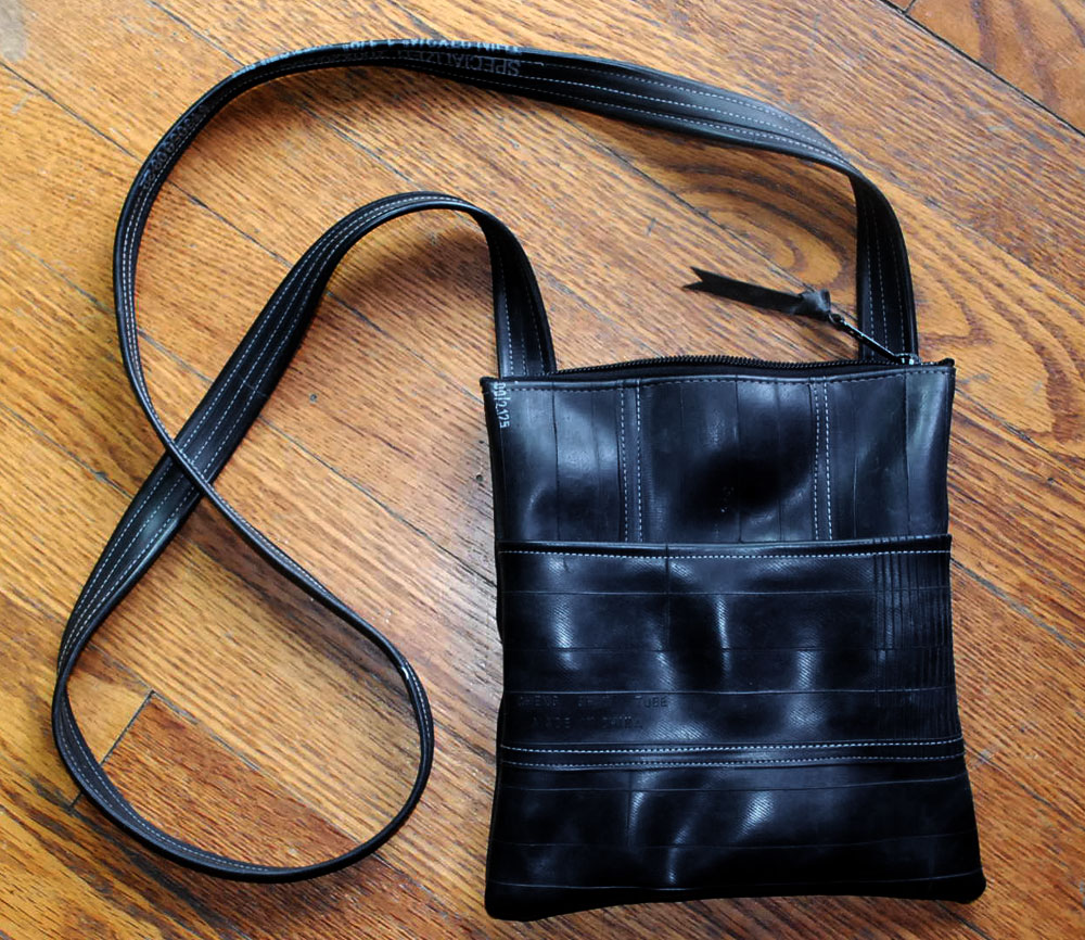 Bike inner tube purse