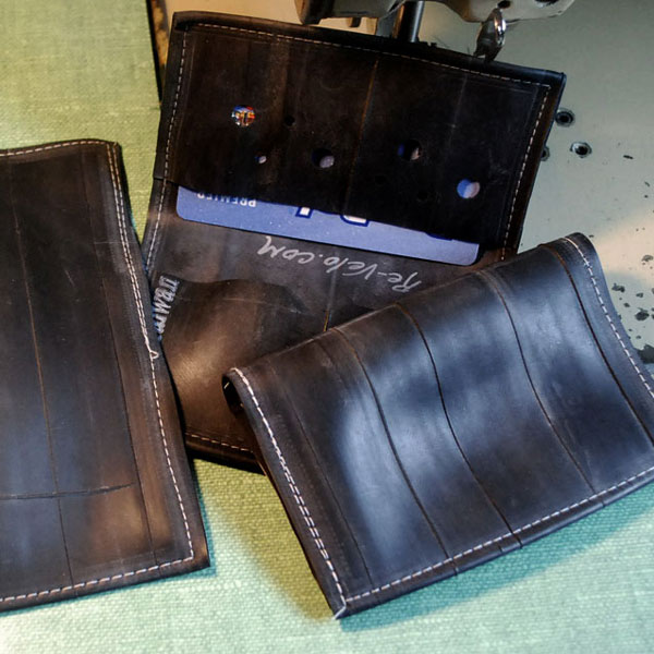 Inner tube wallets