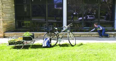 K-State Gardeners Ride Bikes!