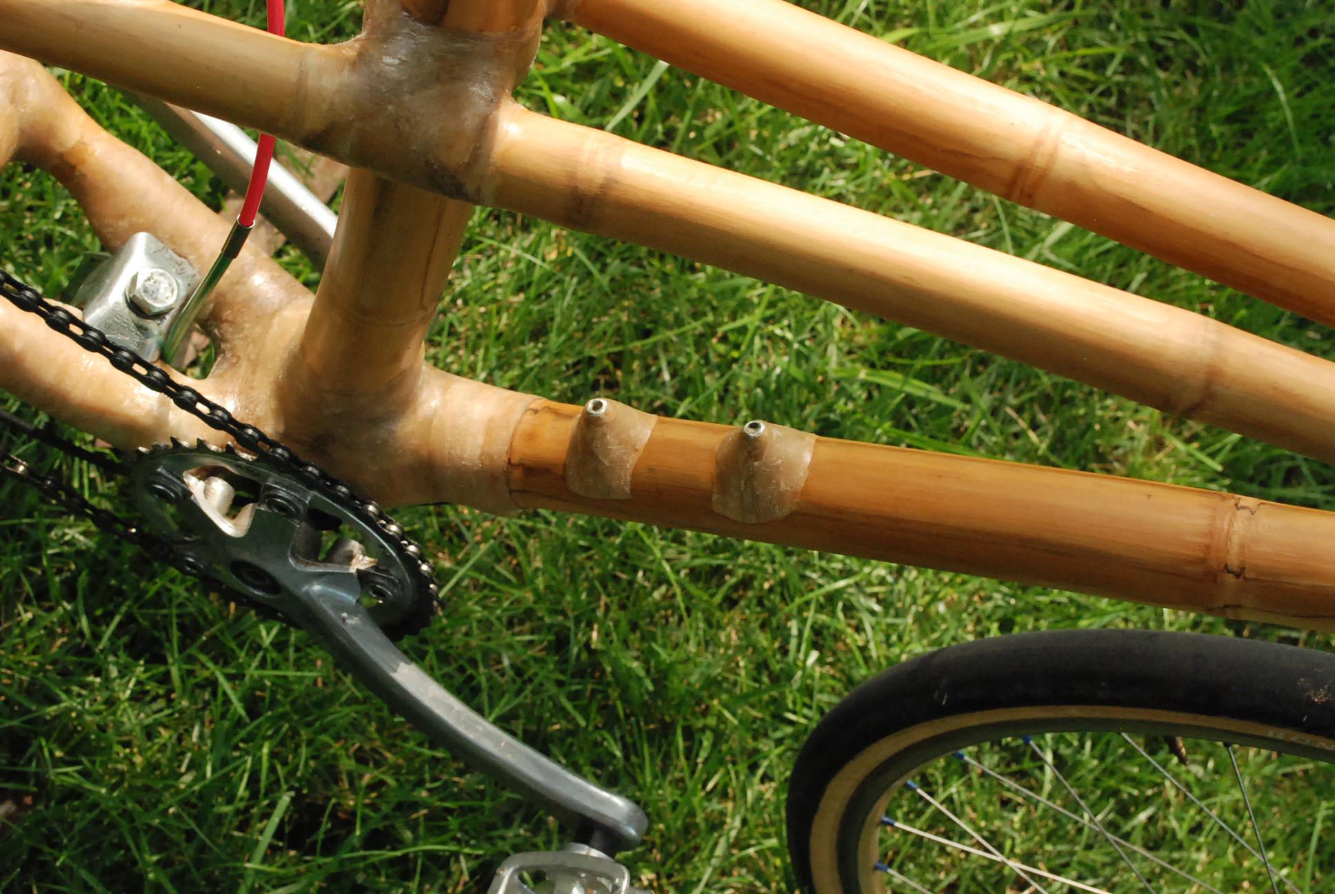 water bosses on bamboo bike