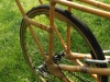 Bamboo Cargo bike rear rack area