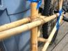 bamboo tacked together